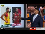 Jalen Rose's Top Players 28 - Under: Kawhi Leonard, Giannis Antetokounmpo, Anthony Davis,...