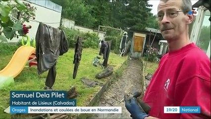 Calvados : de violents orages dévastent le département