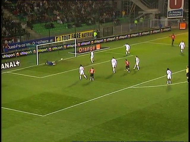 08/11/03 : Alexander Frei (53') : Rennes - Lille (2-2)
