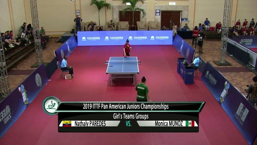 2019 ITTF PanAm Junior Championships | Day 2 Session 1