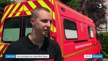 Canicule : forte mobilisation des pompiers