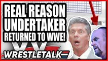 Seth Rollins SHOOTS On Will Ospreay! REAL REASON Undertaker RETURNED! | WrestleTalk News June 2019