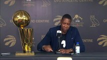 Raptors president Masai Ujiri sees potential for repeat