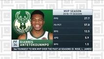 Tiki and Tierney: Giannis Antetokounmpo named 2019 NBA MVP