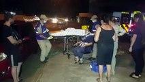 Mulher é atropelada por carro em trecho escuro da Rua Salgado Filho