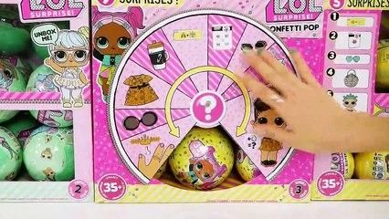 LOL Surprise Confetti Pop Series 3, Lil Sisters, Series 2 L.O.L Muñecas Bebes LOL SURPRESA BONECA | Karla D.