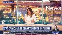 Canicule: 65 départements en alerte (1/2)