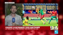 REPLAY  - CAN 2019 : le Cameroun prend la tête du groupe F