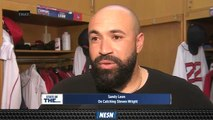 Sandy Leon Discusses Catching Steven Wright