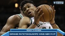 Time to Schein: Giannis Antetokounmpo WINS NBA MVP