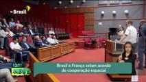 Brasil e França selam acordo de cooperação espacial