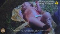 Difunden video del rescate de una bebé abandonada en una bolsa de plástico en EE.UU.