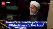 Iran President Comments On Trump Issues