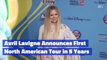 Avril Lavigne Is Back To Touring