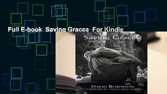 Full E-book  Saving Graces  For Kindle