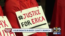 Woman suing cit of Phoenix after body cavity search