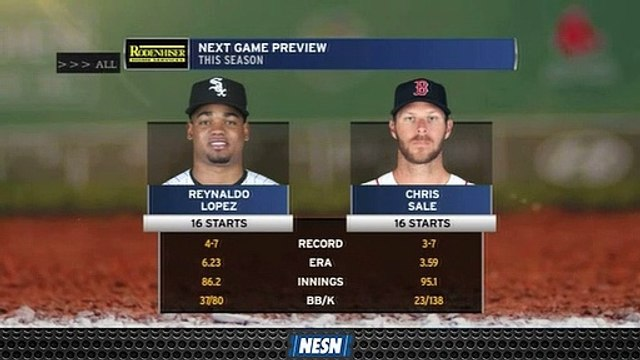 Chris Sale To Start For Red Sox On Wednesday