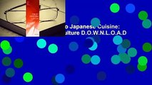R.E.A.D Introduction to Japanese Cuisine: Nature, History and Culture D.O.W.N.L.O.A.D