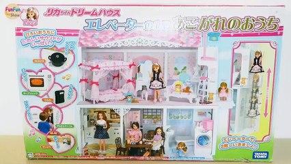 Two-story Japanese-style Doll house for Barbie dolls Unboxing Rumah boneka Barbie  Casa de boneca | Karla D.