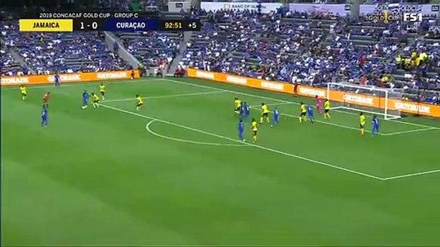 Jamaica 1-[1] Curacao - Jurien Gaari fantastic 93rd minute equalizer
