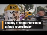 The city of Nagpur has set a unique record today