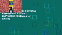 Full version Science Formative Assessment, Volume 1: 75 Practical Strategies for Linking