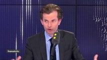 """Privatisation d'Aéroports de Paris : """"Je ne suis pas favorable à ce que l'on s'associe à Jean-Luc Mélenchon pour demander un référendum. Je trouve que c'est une erreur de l'avoir fait"""", juge  le député LR Guillaume Larrivé"""
