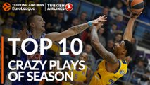 2018-19 Turkish Airlines EuroLeague: Top 10 Crazy Plays!