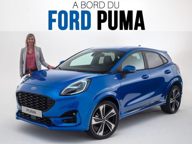 A bord du Ford Puma (2019)