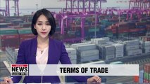 S. Korea's terms of trade worsens for 18th consecutive month