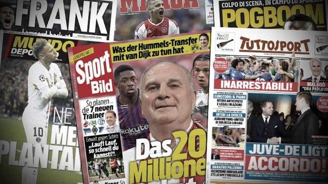 Les négociations pour un retour de Paul Pogba décollent, Matthijs de Ligt d'accord avec la Juventus