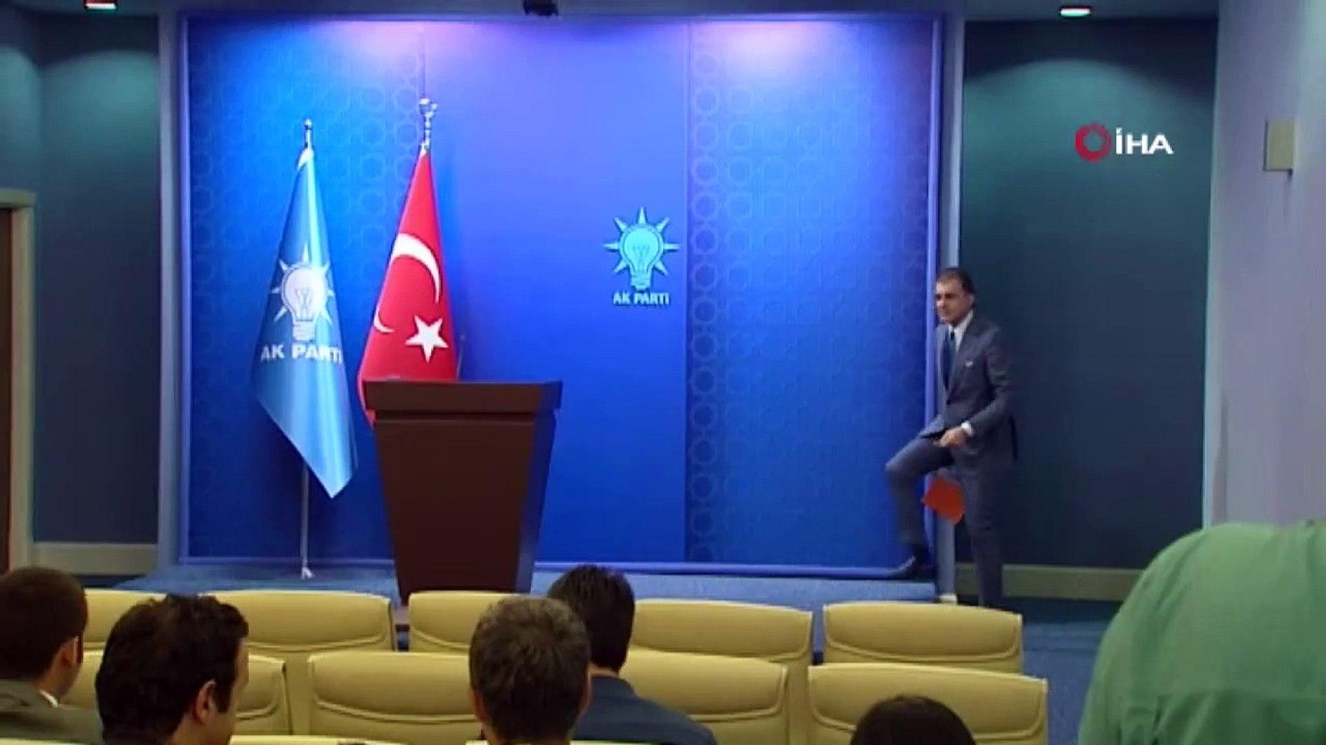 """Ömer Çelik """"Yunanistan Türkiye'nin İyi Komşuluğunun Kıymetini Bilmelidir"""" iha"""