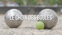 Le choix des boules expliqué par Alain Di Méglio, président de Pétanque Club Montpellier Celleneuve