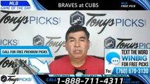 Braves vs Cubs MLB Pick 6/26/2019