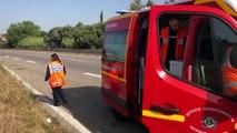Accident. Un véhicule retourné à Port-de-Bouc