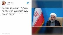 « L'Iran ne cherche la guerre avec aucun pays », promet Hassan Rohani à Emmanuel Macron