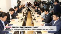 S. Korea to invest US$ 60 bil. to nurture service sector