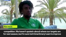 (Subtitled) 'We want to get back into Champions League and win as many competitions as possible' Iwobi