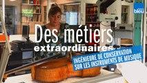 Métiers extraordinaires : Sandie, ingénieure pour la conservation des instruments de musique