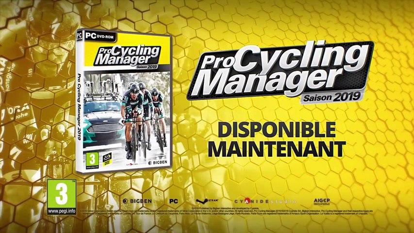 """Pro Cycling Manager 2019 -  Le trailer du jeu vidéo """"Pro Cycling Manager 2019"""" par Bigben"""