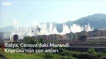 Cenova'da 43 kişinin öldüğü otoyol köprüsü yıkıldı