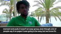 (Subtitled) 'It's going to be hard but we have a chance.' Alex Iwobi on Nigeria's AFCON chances