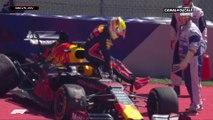 Grand Prix d'Autriche - Crash pour Max Verstappen lors des essais libres 2