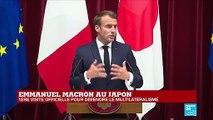 Emmanuel Macron durcit le ton sur le climat à deux jours du G20 d'Osaka