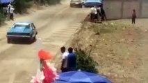 Carrera a toda velocidad con desenlace fatal: rompieron el muro