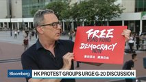 Hong Kong Protesters Seek G-20 Attention in Pre-Summit Rally
