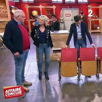 En pleine émission d'Affaire conclue sur France 2, Sophie Davant fait une grosse chute