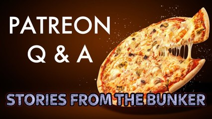 Pizza Party! We answer your questions   Stories From The Bunker Q&A