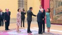 La Reina Letizia y el Rey Felipe para calentar los Premios Princesa de Asturias