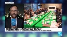 """""""La France et le Japon partagent une vision commune sur des sujets brûlants"""""""